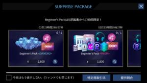 パッケージ購入